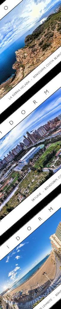 Posters de Fotos Panorámicas 360 VR de Benidorm y Costa Blanca