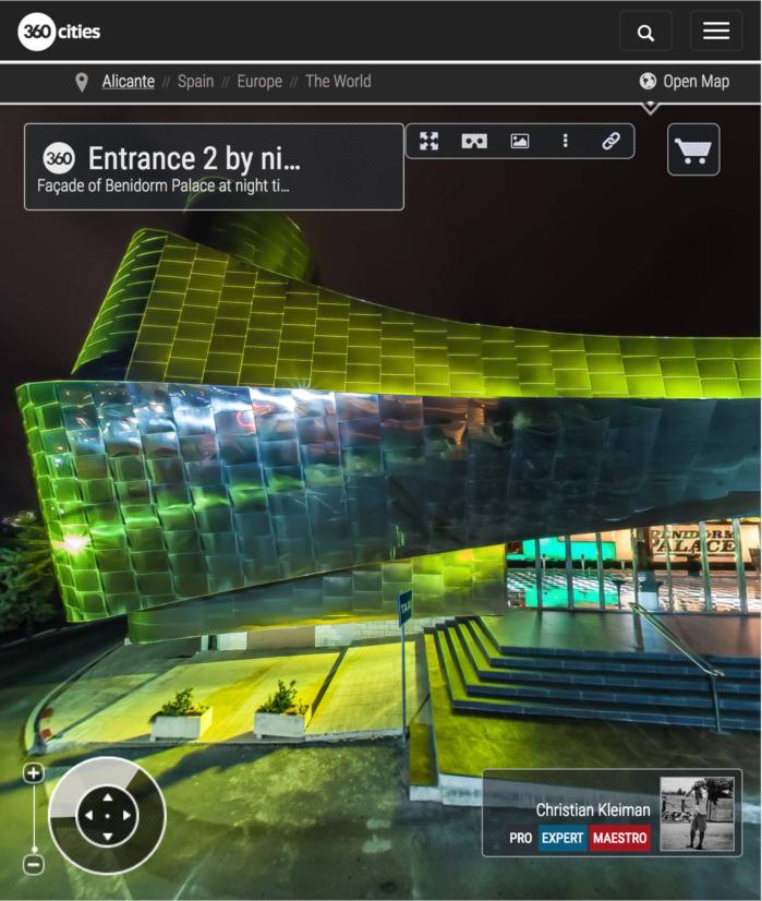 Benidorm Palace - Cabaret Music Hall & Spectacles - 360 VR Pano Photos