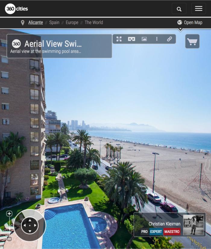 Apartamentos Maria Cristina Beach, Costa Blanca - Fotos Pano 360 VR