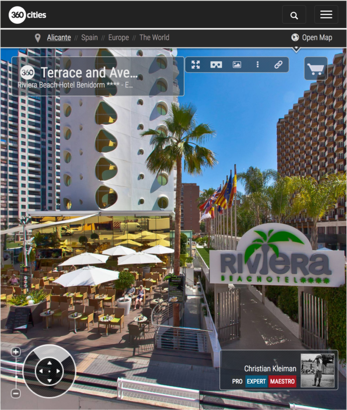 Riviera Beach Hotel Benidorm - Exclusive for Adults - 360 VR Pano Photos