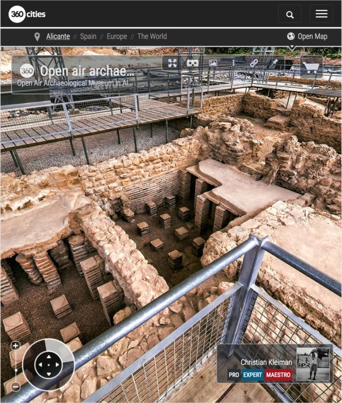 Roman Villa Museum - Albir, Alfaz del Pi - 360 VR Pano Photos