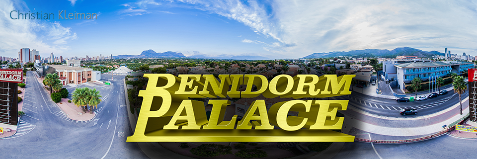 Aerial View Benidorm Palace - Music Hall Access - 360 VR Pano Photo