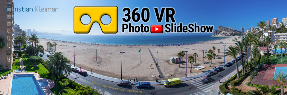 Experiencia Video 360 VR de Benidorm, Costa Blanca