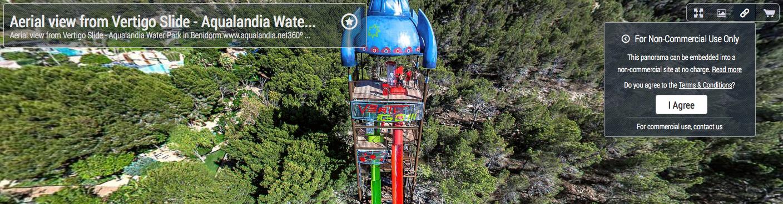 Guía de Fotografía Creativa 360º de la ciudad de Benidorm Costa Blanca - Fotografía Panorámica 360º © Christian Kleiman