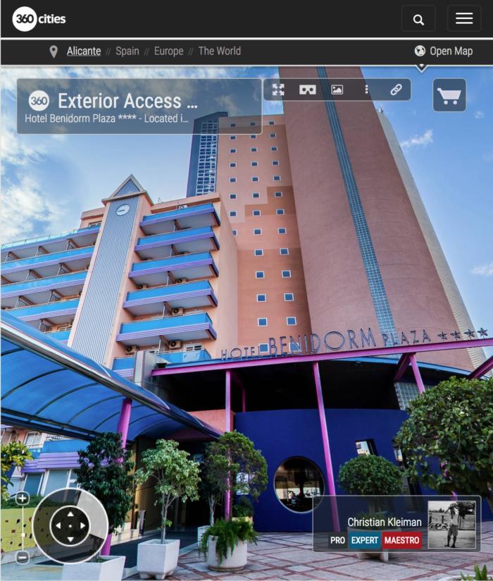 Hotel Benidorm Plaza **** Costa Blanca - Fotos Pano 360 VR