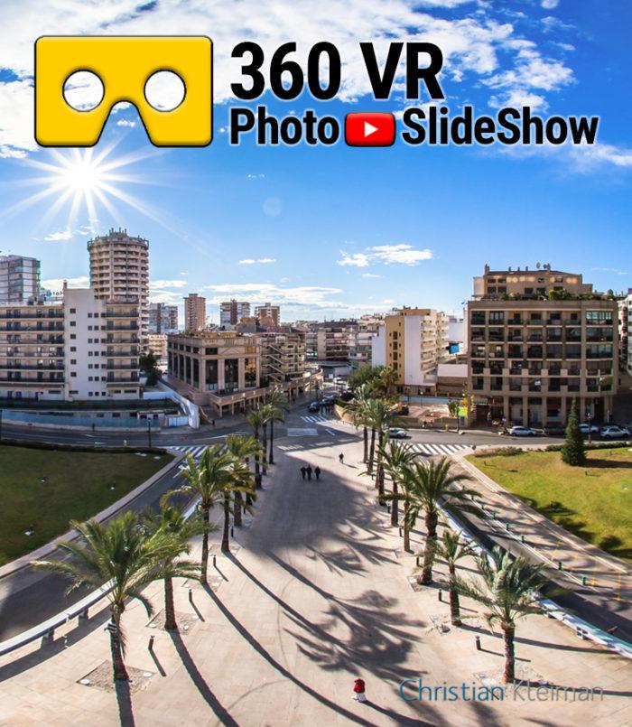 Experiencia Video 360 VR de Benidorm, Costa Blanca